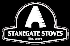 Stanegate Stoves Logo White