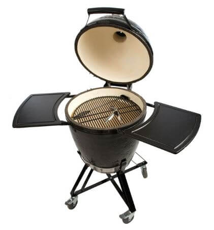 Kamado Round All In One open