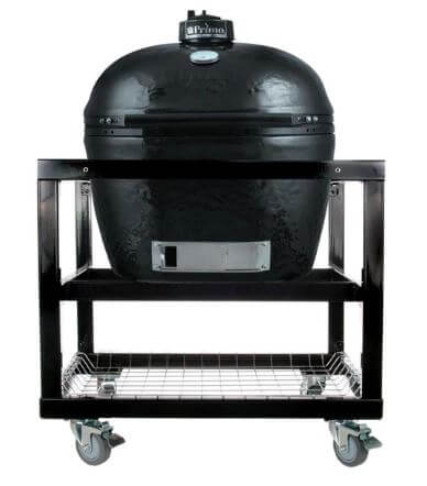 cart base with basket Oval JR 200 with Primo Grill